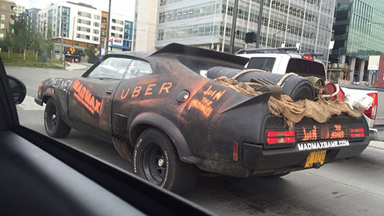 Foto Unik Taksi Online 09