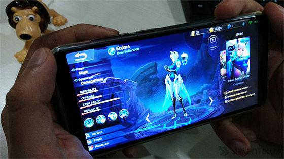 Review Vivo V7 Mobile Legends