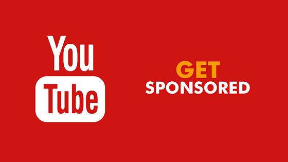 Sponsorship Cara Youtuber Mendapatkan Uang