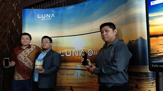 Luna G8 Resmi Dirilis 1