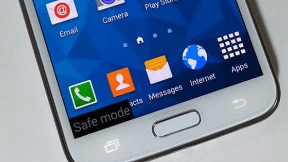 Cara Masuk Safe Mode Samsung