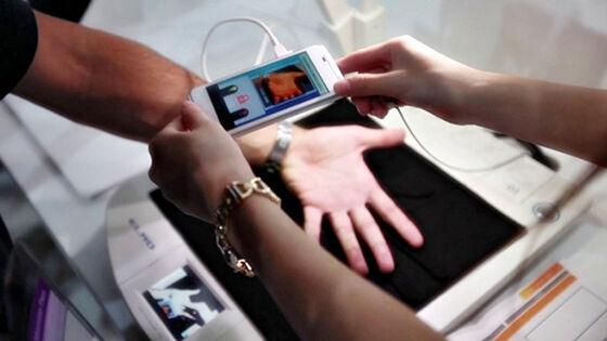 Telapak Sensor Keamanan Biometrik