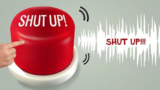 Shut Up Aplikasi Unik Android