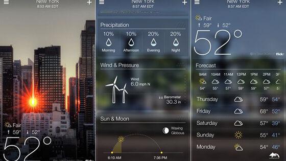 Aplikasi Cuaca Terbaik 3