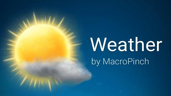 Aplikasi Cuaca Terbaik 8