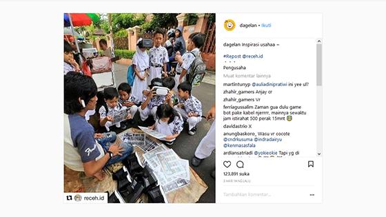 Instagram Dagelan