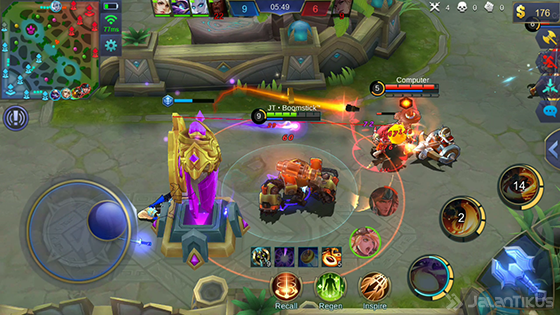 Gameplay 1 Guide Jawhead Mobile Legends