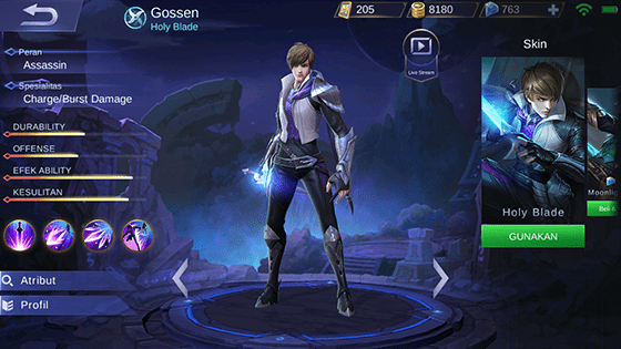 Hero Guide Gusion Mobile Legends