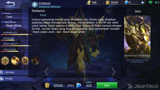 Skill Pasif Uranus Mobile Legends 584bd