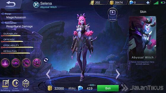 Selena Mobile Legends Elven F9991