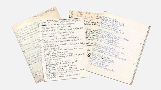 Font Unik Songwriter Font David Bowie 1 Fd5c2