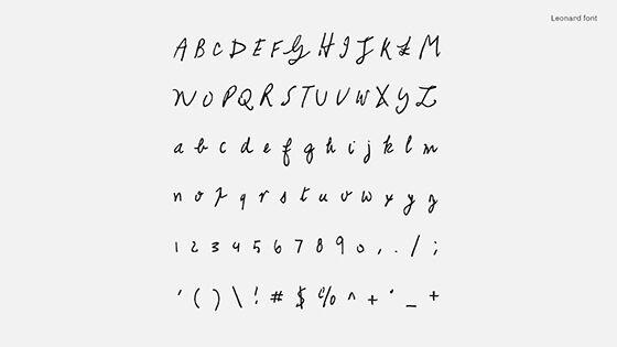 Font Unik Songwriter Font Leonard Cohen 2 00b75