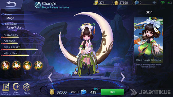 Hero Change Mobile Legends C7e4f