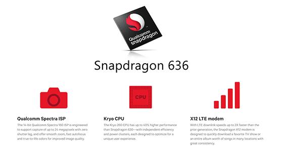 Chipset Qualcomm Snapdragon 636