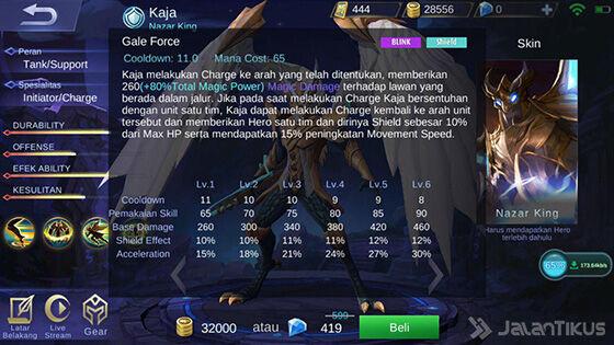 Skill 2 Kaja Mobile Legends 92d01