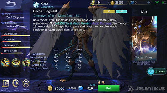Skill 3 Kaja Mobile Legends 2c11d