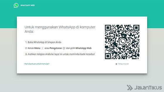 Menggunakan WhatsApp di PC atau Laptop