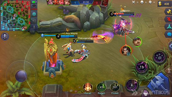 Gameplay Nana Mobile Legends 1