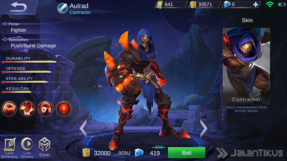 Hero Aulrad Mobile Legends 8ee46