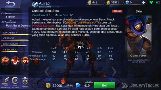 Aulrad Hero Fighter Mobile Legends Bang  Aulrad Hero Fighter Mobile Legends Bang - Bang Terbaru 2018
