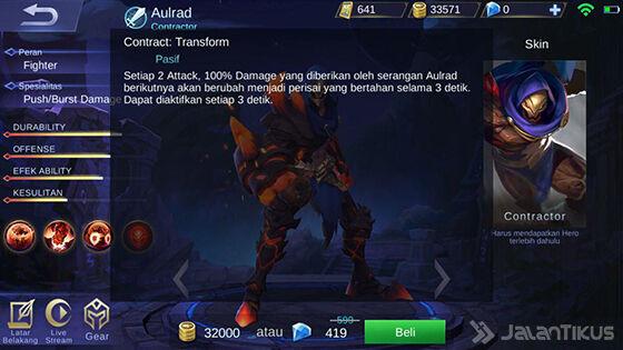 Skill Pasif Aulrad Mobile Legends F625a