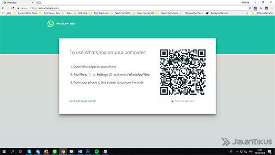 Cara Menggunakan 2 Akun Whatsapp Pc 1 23887