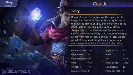 Kisah Claude Mobile Legends 14b59