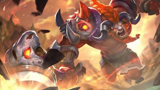 Hero Overpowered Mobile Legends Season 9 Minotaur 445df