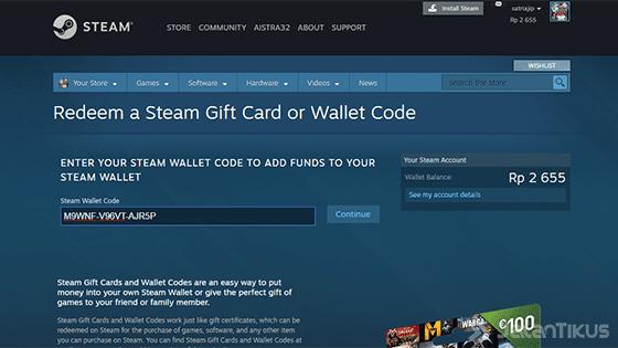 Cara Redeem Kode Steam Wallet 01 B4279