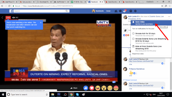 Cara Download Live Streaming Facebook 5 2760d