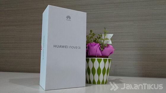Unboxing Huawei Nova 3i C258c