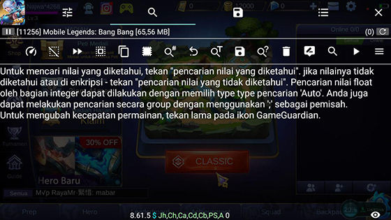Cara Pakai Game Guardian, Cheat Game Android Tanpa Root