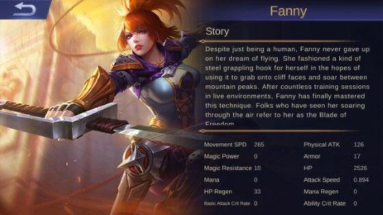 Fanny Mobile Legends 1 8f60d