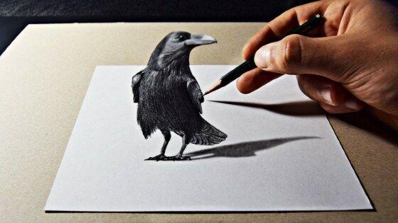 Gambar 3D Keren Pensil 10 50c5c