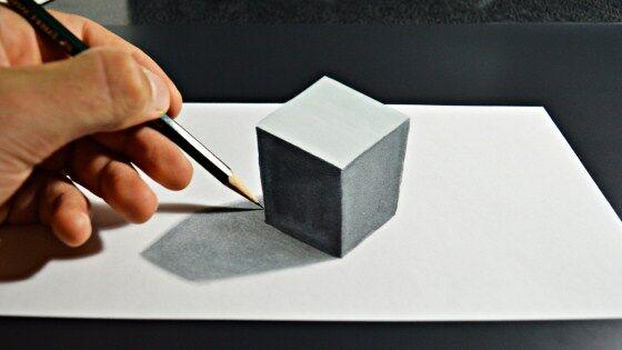 Gambar 3D Keren Pensil 4 72a0f