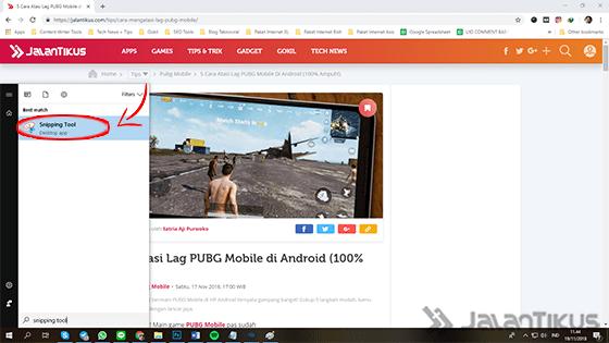 Cara Screenshot Di Laptop Windows Snipping 01 E050f