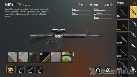 senjata-pubg-mobile-m16a4