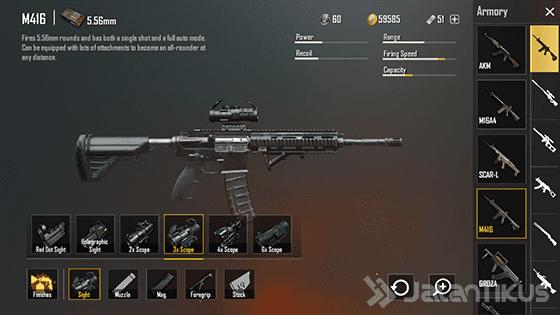 senjata-pubg-mobile-m416