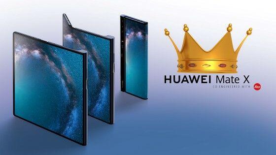 Huawei Mate X Vs Samsung Galaxy Fold 1 5ec29