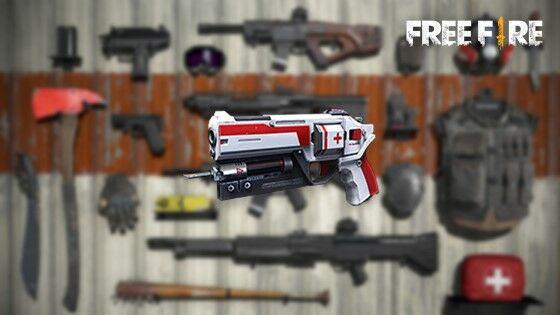 Looting Terbaik Free Fire Healing Gun 60e7c