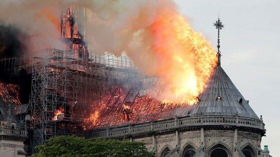 Restorasi Gereja Notre Dame Burn 8f0b1