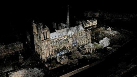 Restorasi Gereja Notre Dame Unity 3d 3c166