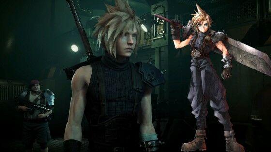 Perbedaan Karakter Final Fantasy 7 Cloud 7f79b