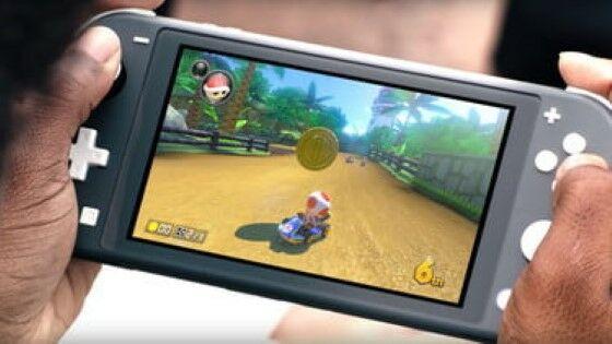 Mode Handheld Nintendo Switch Lite 9ba85