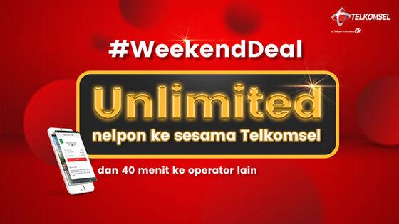 Paket Nelpon Simpati Weekend Deal C4146