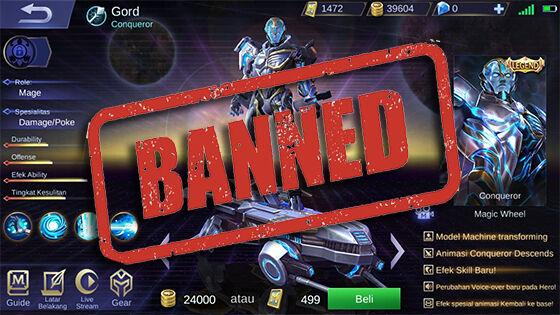 Skin Legendary Mobile Legends Banned C3f66