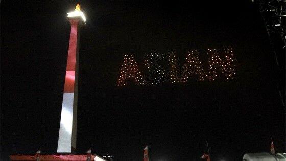 Drone Asian Games Fa50c