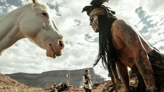 The Lone Ranger Johnny Depp Custom F5ce1