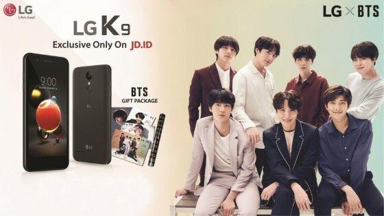 LG K9 Edisi BTS 2ebc5