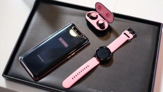Samsung Galaxy A80 Edisi BLACKPINK 61abd